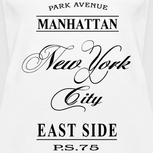New York City Toppe - Dame Premium tanktop