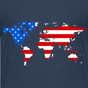 usa world Shirts - Teenage Premium T-Shirt