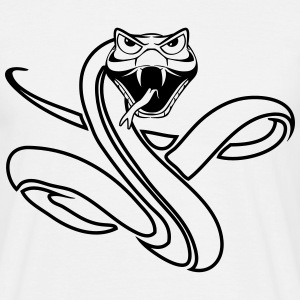 Snake cool dangerous T-Shirts - Men's T-Shirt