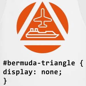 CSS pun: The Bermuda Triangle  Aprons - Cooking Apron