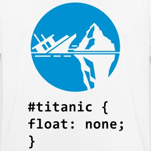 CSS calembour: Titanic Tee shirts - T-shirt respirant Homme
