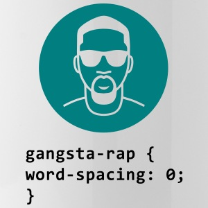 CSS pun: Gangsta Rapper Mugs & Drinkware - Water Bottle
