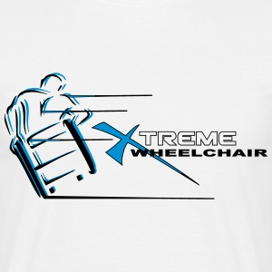 Xtreme wheelchair T-Shirts - Men's T-Shirt