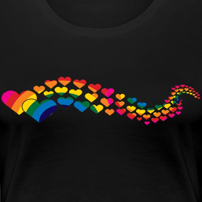 Hearts Womens Shirt