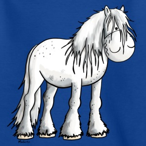 Weißes Shire Horse T-Shirts - Teenager T-Shirt