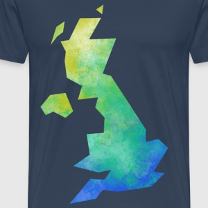 Map UK T-Shirts - Men's Premium T-Shirt