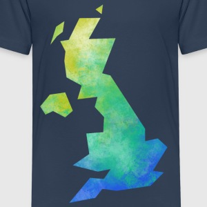 Map UK Shirts - Kids' Premium T-Shirt