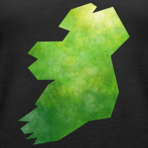 Map Ireland Tops - Women's Premium Tank Top