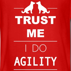 Trust me I do Agility Manches longues - T-shirt manches longues Premium Ado