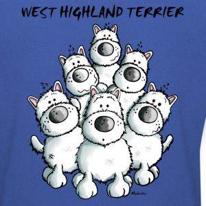 Drôle West Highland White Terrier Sweat-shirts - Sweat-shirt Homme