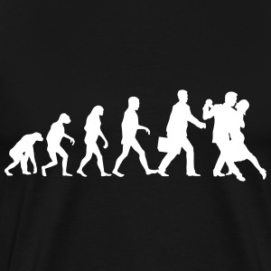 Evolution of Mens Tango T-Shirts - Männer Premium T-Shirt