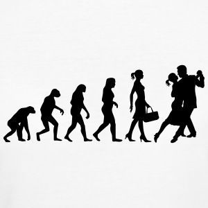 Evolution of Ladies Tango T-Shirts - Frauen Bio-T-Shirt