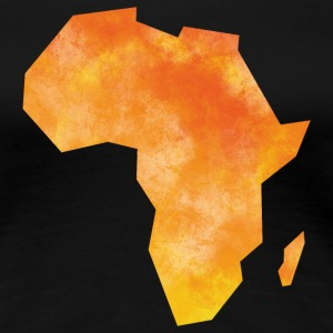 Map Africa T-Shirts - Women's Premium T-Shirt