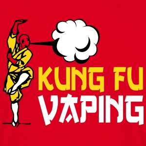 KUNG FU VAPING - T-shirt Homme