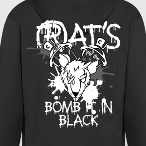Rat's Bomb by LPB Sweat-shirts - Veste à capuche Premium Homme