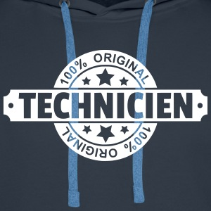 Technicien Sweat-shirts - Sweat-shirt à capuche Premium pour hommes
