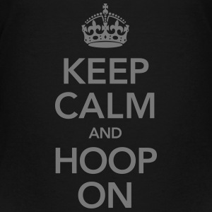 Keep Calm And Hoop On T-Shirts - Teenager Premium T-Shirt
