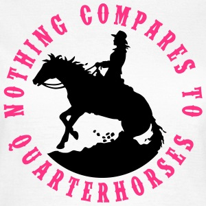 Quarterhorses Lady 2C T-Shirts - Frauen T-Shirt