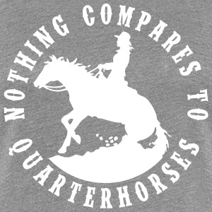 Quarterhorses Lady T-Shirts - Frauen Premium T-Shirt