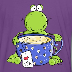 Tea Time Grenouille Tee shirts - T-shirt Premium Homme