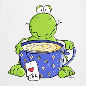 Tea Time Frog  Aprons - Cooking Apron