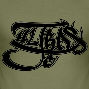 Ultras graffiti black - slim fit T-shirt