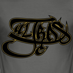ultras graffiti black/gold - slim fit T-shirt