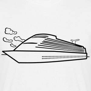 Ship sea cruise vacation T-Shirts - Men's T-Shirt
