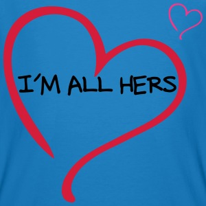 Couple I am all Hers T-Shirts - Men's Organic T-shirt