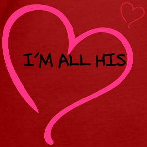 Couple I am all His Tee shirts - T-shirt Bio Femme