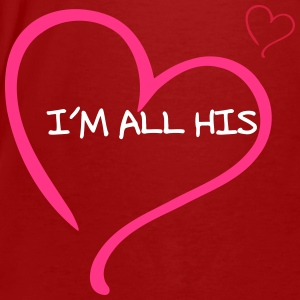 Couple I am all His T-shirts - Mannen Bio-T-shirt