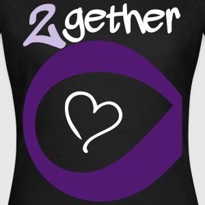 Couple Together forever Infinity T-shirts - Vrouwen T-shirt
