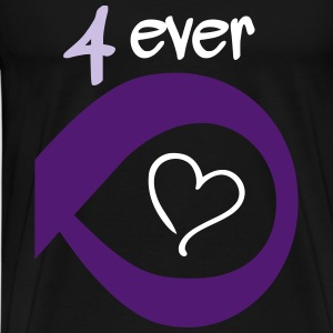 Couple Together forever Infinity T-Shirts - Männer Premium T-Shirt