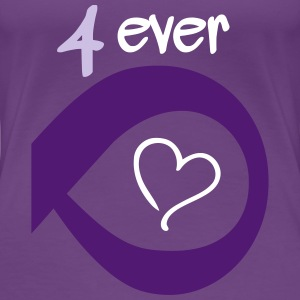 Couple Together forever Infinity Tee shirts - T-shirt Premium Femme