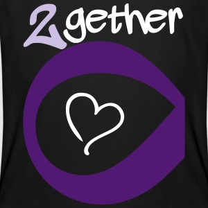 Couple Together forever Infinity T-Shirts - Männer Bio-T-Shirt