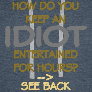 How Do You Keep An Idiot Entertained - front Sweat-shirts - Sweat-shirt à capuche Premium pour hommes