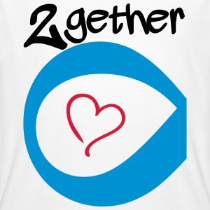 Couple Together forever Infinity Magliette - T-shirt ecologica da uomo