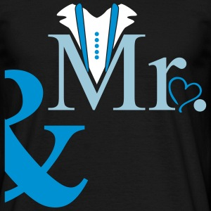 couple Mister Heart T-shirts - Herre-T-shirt