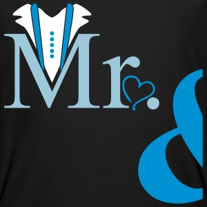 couple Mister Heart T-shirts - Mannen Bio-T-shirt