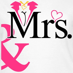 couple Misses Heart Camisetas - Camiseta mujer