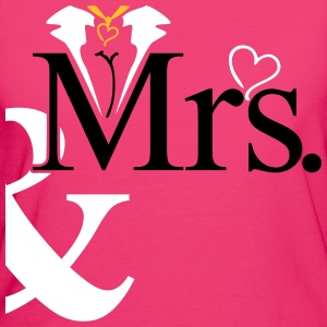 couple Misses Heart Tee shirts - T-shirt Bio Femme