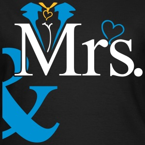 couple Misses Heart T-shirts - Dame-T-shirt