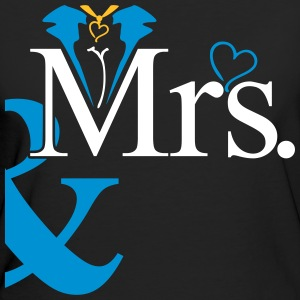 couple Misses Heart T-Shirts - Frauen Bio-T-Shirt