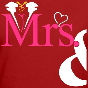 couple Misses Heart Magliette - T-shirt ecologica da donna