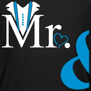 Couple Mister Heart T-Shirts - Männer Bio-T-Shirt