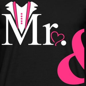 Couple Mister Heart T-shirts - Mannen T-shirt