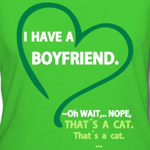 I have a Boyfriend Nope that is a Cat Tee shirts - T-shirt Bio Femme