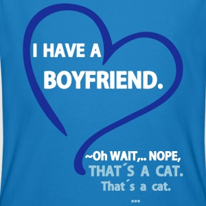 I have a Boyfriend Nope that is a Cat Tee shirts - T-shirt bio Homme