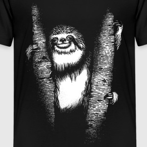 Faultier Sloth T-Shirts - Teenager Premium T-Shirt
