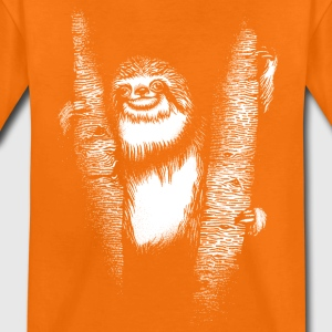 Orange Sloth Shirts - Teenage Premium T-Shirt